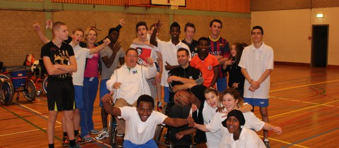 Clinic rolstoelbasketbal was geweldig!