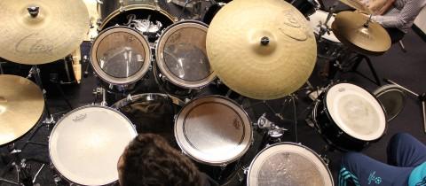 foto's drummen